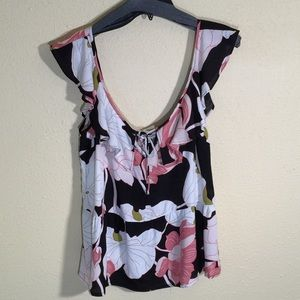 NWOT Cupcakes and Cashmere floral Blouse